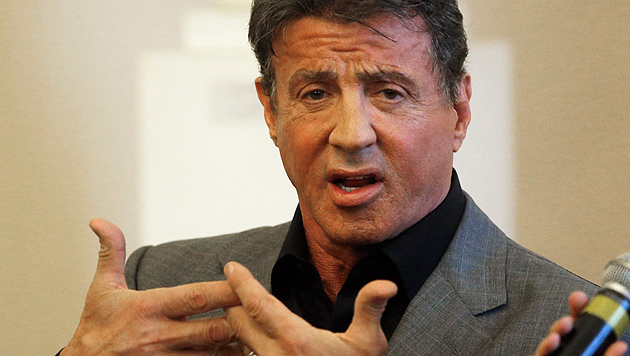 Sylvester Stallone hasst sein Muskelprotz-Image (Bild: AP)