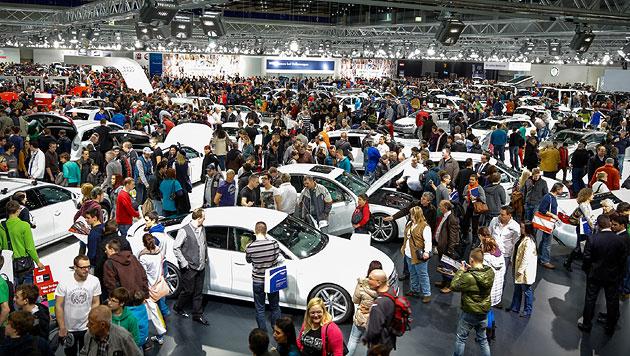 Was uns auf �sterreichs gr��ter Automesse erwartet (Bild: Reed Exhibitions Messe Wien / Andreas Kolarik)