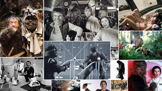 """""""Chewbacca"""" twittert Fotos von """"Star Wars""""-Set (Bild: twitter.com/Peter Mayhew)"""