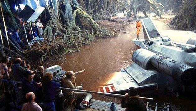 """Chewbacca"" twittert Fotos von ""Star Wars""-Set (Bild: Twitter/Peter Mayhew)"