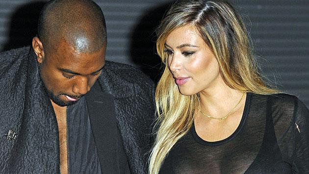 """Kim und Kanye: Spott und Häme für """"Vogue""""-Cover (Bild: AP)"""