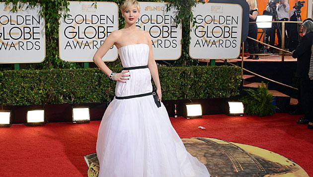 Prinz Harry ist scharf auf Jennifer Lawrence (Bild: AP)