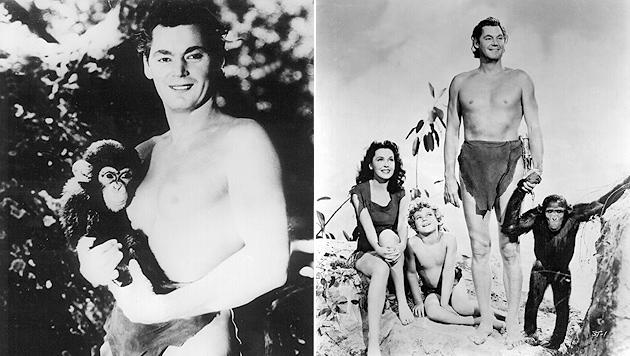 """Vor 30 Jahren starb """"Tarzan"""" Johnny Weissmüller (Bild: dpa-Film/dpa)"""