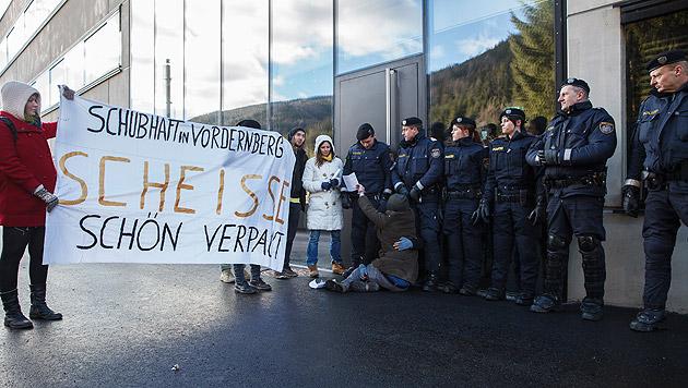Anhaltezentrum in Vordernberg offiziell eröffnet (Bild: APA/ERWIN SCHERIAU)