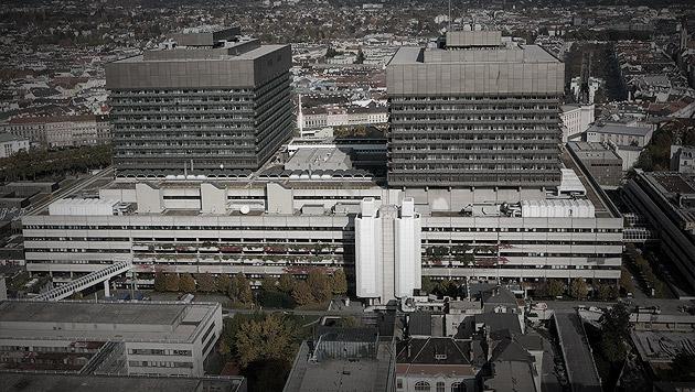 Bauskandale am AKH: Häupl schickt Experten-Team (Bild: APA/HELMUT FOHRINGER, krone.at-Grafik)