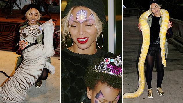 Beyonce: Tierische Geburtstagsparty für Blue Ivy (Bild: iam.beyonce.com)