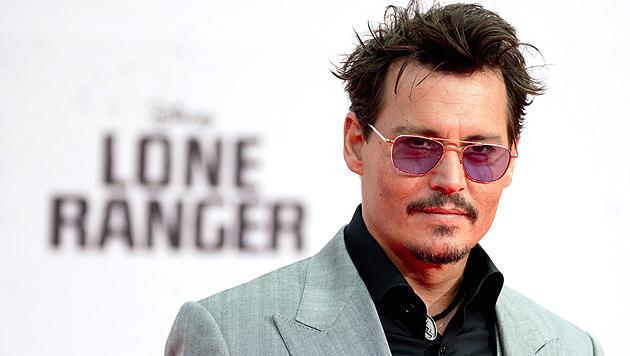 "Johnny Depp für ""Goldene Himbeere"" nominiert (Bild: EPA)"