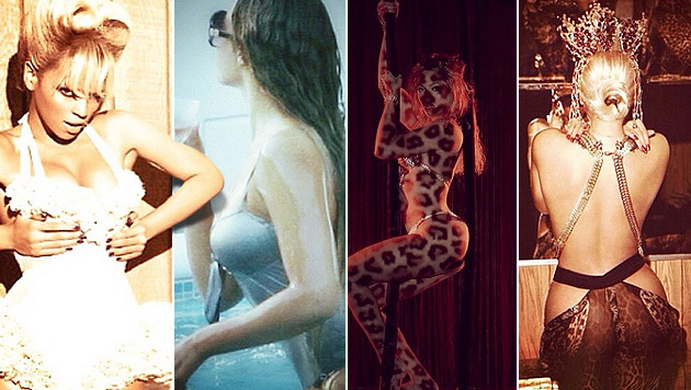 Beyonce heizt ihren Fans mit sexy Bildern ein (Bild: Instagram, krone.at-Grafik)
