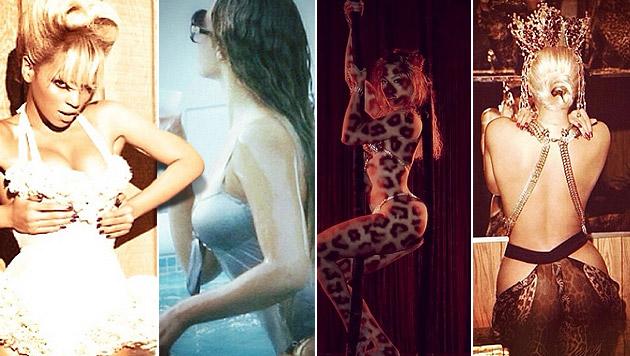 Neues Video: Beyonce prangert Schönheitswahn an (Bild: Instagram, krone.at-Grafik)
