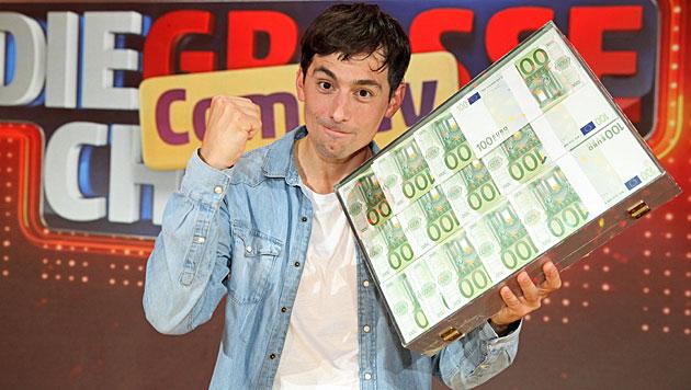 """Olivier Sanrey gewinnt """"Große Comedy Chance"""" (Bild: ORF/Milenko Badzic)"""