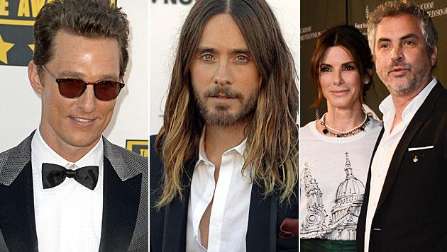 So reagieren die Stars auf die Oscarnominierungen (Bild: AP)