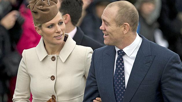 Viertes Urenkelchen der Queen heißt Mia Grace (Bild: AP)