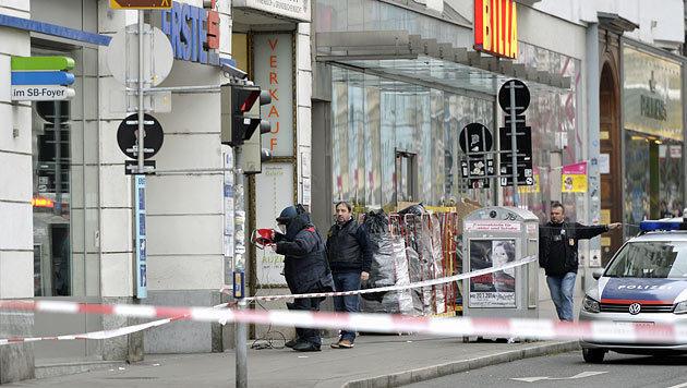 Wiener Polizei jagt mutmaßlichen Serien-Bankräuber (Bild: APA/HERBERT NEUBAUER)