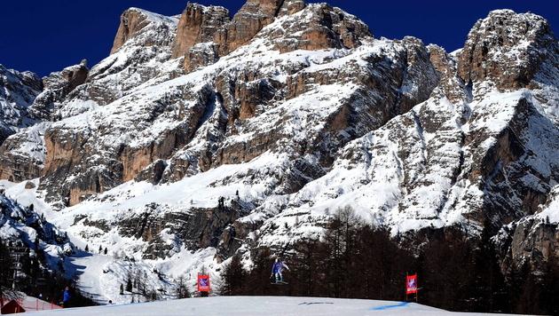 Zweites Abfahrtstraining in Cortina abgesagt (Bild: ETTORE FERRARI / EPA / picturedesk.com)