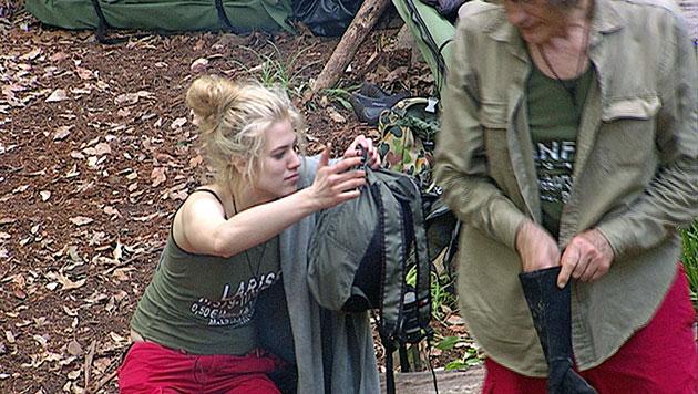 Larissa raubt allen den Nerv und muss zur Prüfung (Bild: RTL/Stefan Menne)