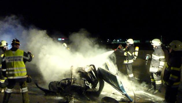 Drei Tote bei zwei Verkehrsunfällen in der Stmk (Bild: APA/FF Lieboch)