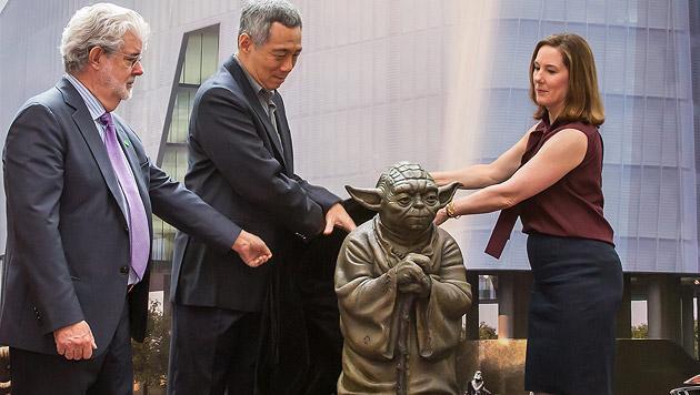 "George Lucas lässt ""Sandcrawler"" auf Singapur los (Bild: APA/EPA/TODD BELTZ / LUCASFILM LTD)"