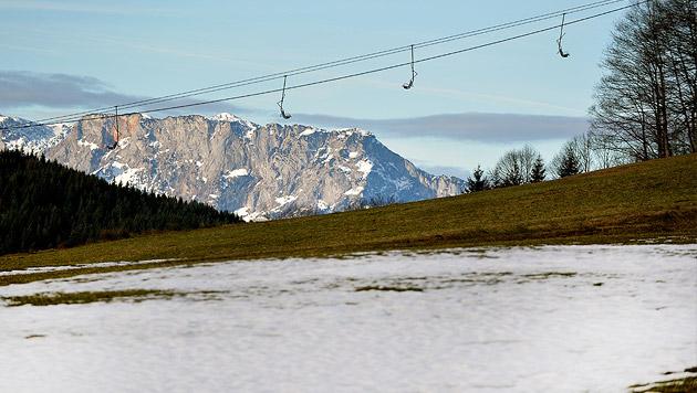 Winter glänzt auch weiterhin durch Abwesenheit (Bild: APA/BARBARA GINDL)