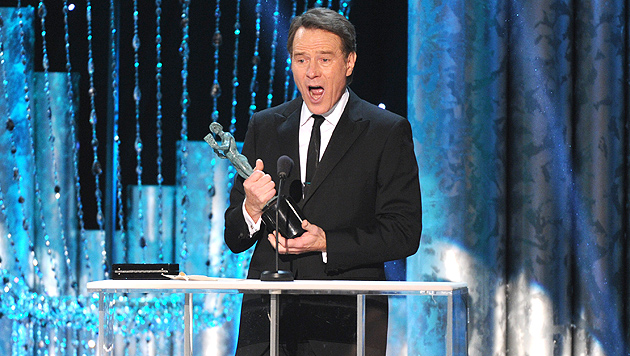 """Breaking Bad""-Star Bryan Cranston sang vor Freude (Bild: AP)"