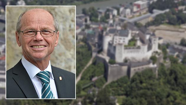 Land Salzburg droht Millionenstrafe von der Finanz (Bild: APA/Barbara Gindl, Klemens Groh)