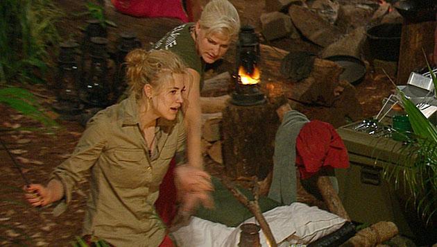 Larissa erst auf der Zielgeraden ausgebremst (Bild: RTL)