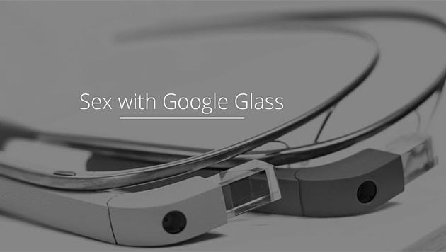 Google Glass eröffnet neue Blickwinkel beim Sex (Bild: glassandsex.com)