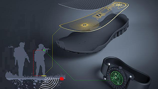 Intelligente Einlegesohle soll vor Minen warnen (Bild: lemurstudio.com.co)