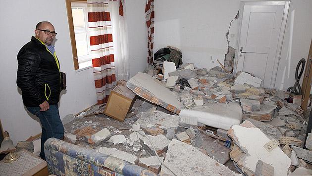 Mann (44) bei Explosion einer Gasflasche verletzt (Bild: APA/Dietmar Mathis/Fotografenmeister)