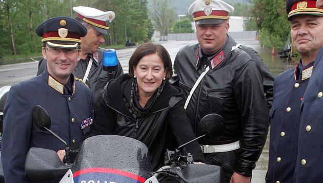 """Mikl-Leitner: """"Es wird kein Polizist eingespart"""" (Bild: Andi Schiel)"""