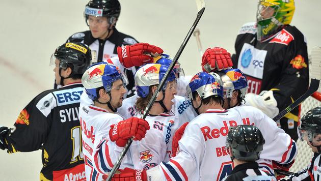 """Bullen"" fertigen Capitals mit 5:0 ab (Bild: Red Bull GEPA pictures)"