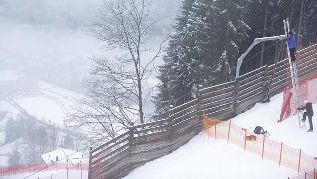 Kitzbühel-Slalom auf Freitag vorverlegt (Bild: APA/ROBERT JAEGER)