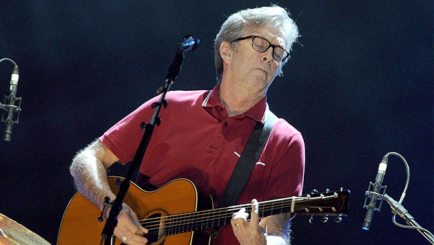 """""""Mr. Slowhand"""" Eric Clapton kommt nach Wien (Bild: EPA)"""