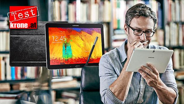 Galaxy Note 10.1: Das kann Samsungs Notiz-Tablet (Bild: Samsung, krone.at-Grafik)