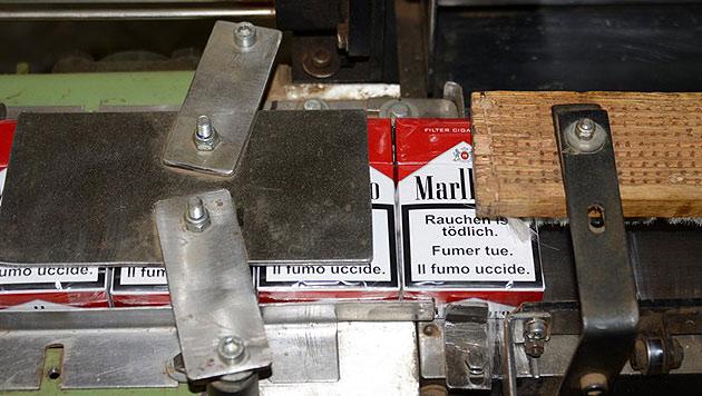 3,1 Millionen gefälschte Zigaretten sichergestellt (Bild: BMF)