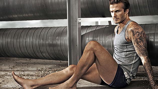 """David Beckham ist der """"Sexiest Man Alive"""" (Bild: H&M)"""