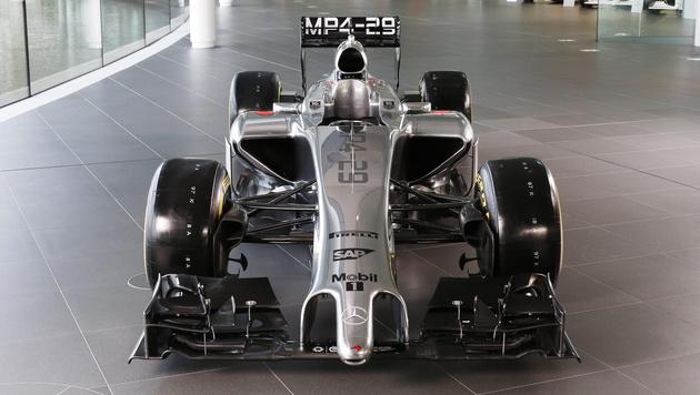 McLaren hat seinen F1-Boliden vorgestellt (Bild: EPA)