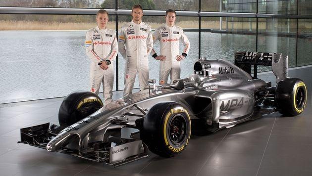 McLaren hat seinen F1-Boliden vorgestellt (Bild: AP)