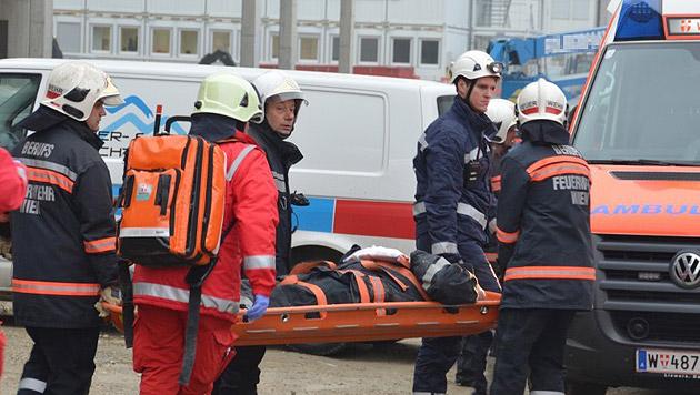 Sechs Feuerwehrleute bei Bergeeinsatz abgestürzt (Bild: APA/MA 68 Lichtbildstelle)
