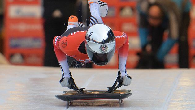 Tirolerin Janine Flock holt EM-Gold (Bild: AP)