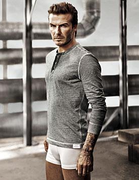 Zeigt sich David Beckham nackt beim Super Bowl? (Bild: H&M)