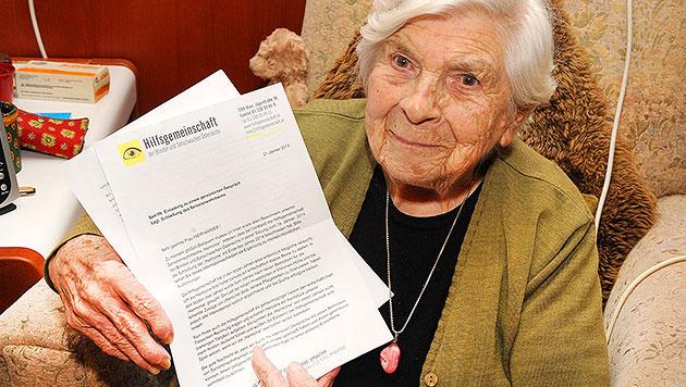 98-Jährige organisiert Aufstand in Seniorenheim (Bild: Franz Crepaz)