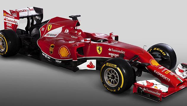 Ferrari mit Staubsaugernase soll WM-Titel bringen (Bild: Ferrari Photoservice)
