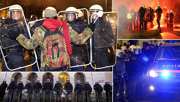 Veranstalter wendet sich wegen Demo-Aufrufs an StA (Bild: APA/HERBERT P. OCZERET, APA/GEORG HOCHMUTH, krone.at-Grafik)