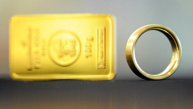 """Wiener in """"Geiselhaft"""" der indischen Gold-Mafia (Bild: dpa/Uli Deck (Symbolbild))"""