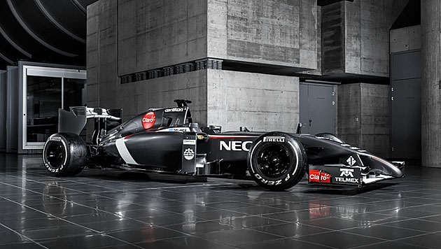 Auch Sauber stellt neuen F1-Boliden vor (Bild: Sauber Team)