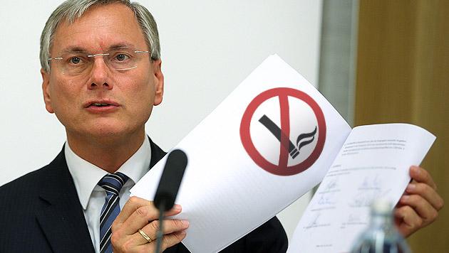 """Stöger: """"Rauchverbot in dieser Legislaturperiode"""" (Bild: APA/GEORG HOCHMUTH, thinkstockphotos.de, krone.at-Grafik)"""