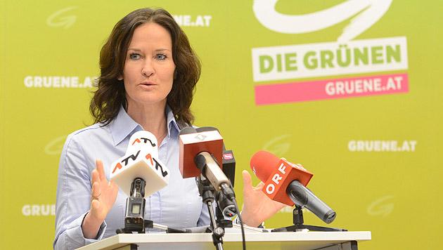 Eva Glawischnig, Grüne (Bild: APA/Helmut Fohringer)