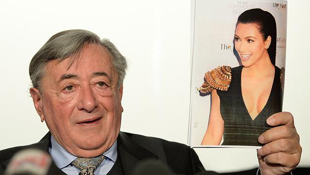 Kim-Kardashian-Nachhilfe für Richard Lugner (Bild: APA/HERBERT NEUBAUER)