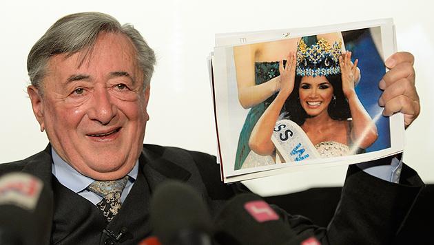"""""""Miss World"""" will mehr Geld für Opernball-Besuch (Bild: APA/HERBERT NEUBAUER)"""
