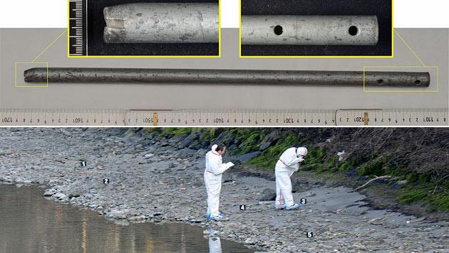 "Mordfall ""Lucile"": Tatwaffe im Inn sichergestellt (Bild: Polizei, APA/ZOOM-TIROL)"